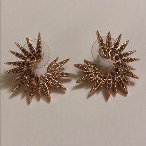 Nadri Star Earrings